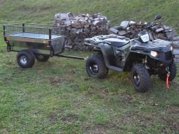 Polaris 570+vozík Zahradník