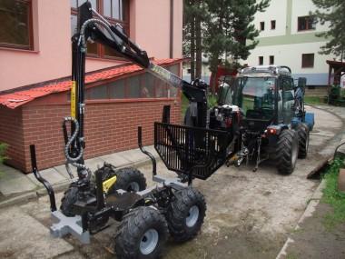 Vyvážečka Vahva Jussi 400 za malotraktor