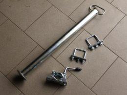 Podpěrná noha pro přívěsy za čtyřkolky
