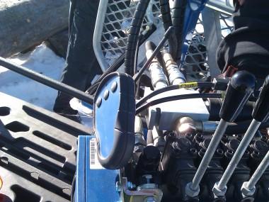 Ovládání hydraulické ruky Avesta 4.2 H