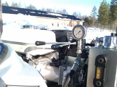 Motor s barometrem na Avestu 4.2 H