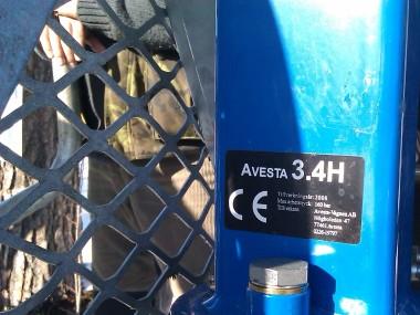 Vyvážečka za malotraktor Avesta 3.4 H