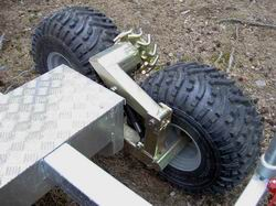 Vyvážečka za malotraktor Avesta 4.2 H - Pomocny pohon