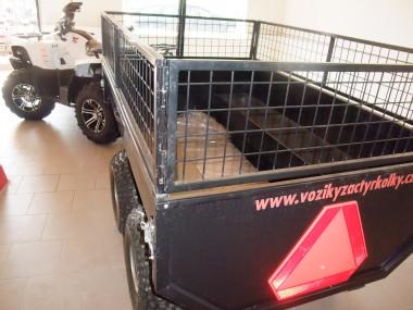 Vyvážecí vozík Profi Zahradník za čtyřkolku