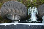 Hydraulický pohon kol