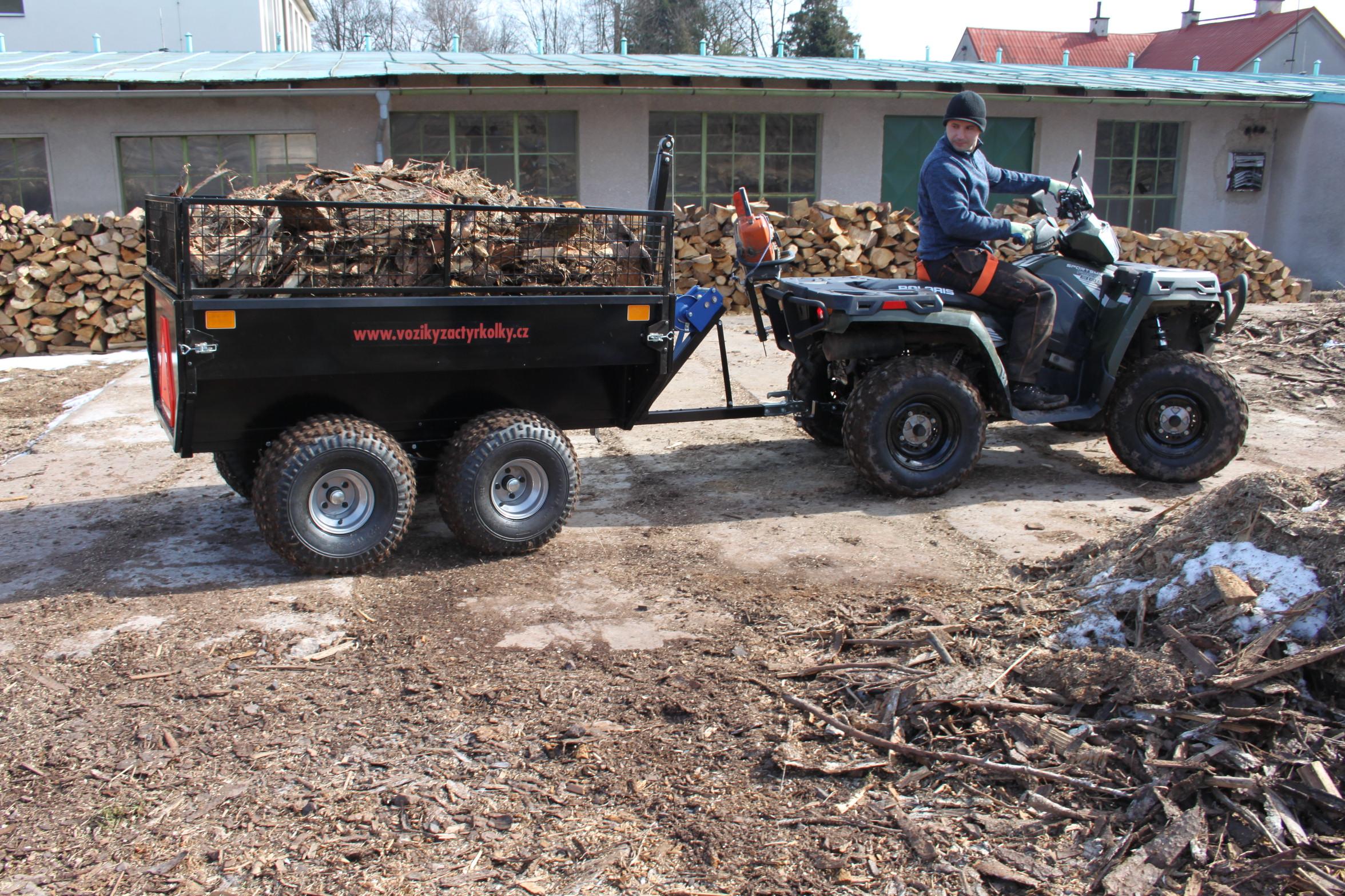 Vyvážecí vozík Profi Zahradník