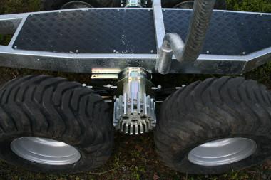 Pohon kol pro vyvážečku za malotraktory
