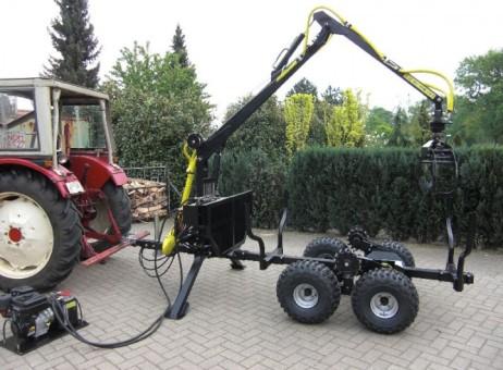 Vyvážečka Vahva Jussi za traktor