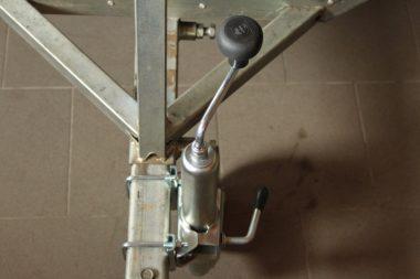 Odjímatelné kolečko pro malé vozíky
