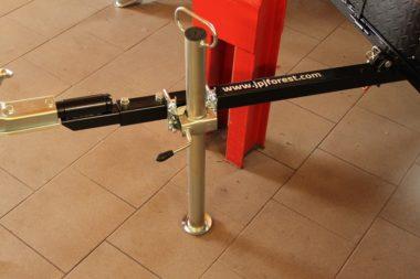 Opěrná nožka přívěsu za ATV