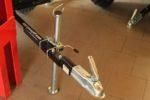 Podpěrná noha pro přívěsy za čtyřkolky a malotraktory