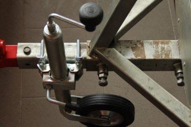Podprné kolečko pro přívěsy za čtyřkolky a malotraktory