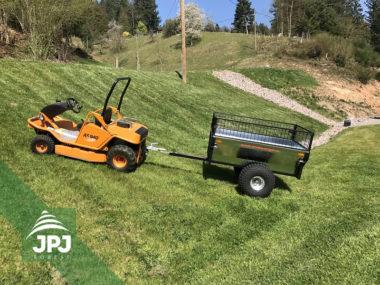 Terénní vozík Zahradník a svahová sekačka