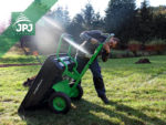montáž připojení za zahradní traktůrek